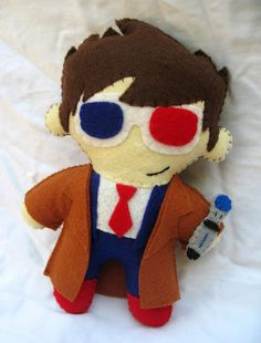Doctor Who Plush Doll by P-isfor-Plushes.deviantart.com on @deviantART