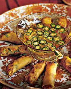 snap pea, pea salad, appetizer recipes, sugar snap, egg rolls, sausage rolls, dipping sauces, dip sauc, spring rolls
