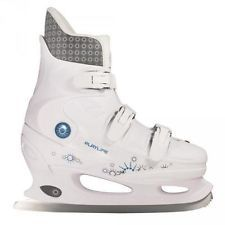 Ice Skates Woman POWERSLIDE CYCLONE white 880024 Skates, Ice Skating, High Tops, High Top Sneakers, Woman, Ebay, Fashion, Moda, La Mode