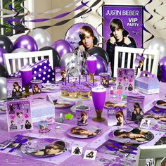 Justin Bieber Ultimate Party Pack