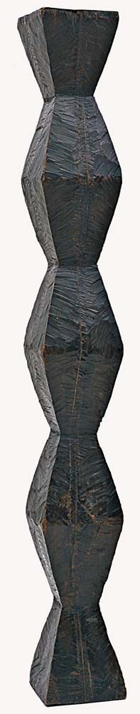 MoMA | Inventing Abstraction | Constantin Brancusi | La Colonne sans fin (Endless column). Version 1. 1918