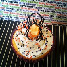 Jeweled Spider CupCakes!  Cupcake Delivery Dallas | Birthday, Wedding Cupcakes Dallas, TX