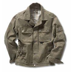 ROFA* Cotton Canvas Work Jacket