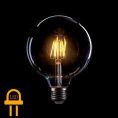 Αν ενδιαφέρεστε για αυτό το προϊόν επικοινωνήστε μαζί μας Led+Λάμπα+Filament++Ε27++8+Watt+(GLOBO+G125)+Θερμό+λευκό