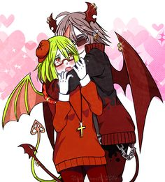 I ship the both of them so much QAQ << I don't really ship them I ship her with Froze tbh