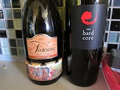 Two terrific wines!  One white the other a red blend.