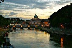 Roma - fiume Tevere