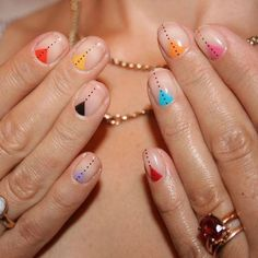 35 Creative DIY Nail Art for Summer this Year – HAIR&NAILS – added to our site quickly. hello sunset today we share 35 Creative DIY Nail Art for Summer this Year – HAIR&NAILS – photos of you among the popular hair designs. You can look at all images and … Nail Art Diy, Diy Nails, Cute Nails, Pretty Nails, Manicure Ideas, Nail Ideas, Pedicure, Dot Nail Art, How To Nail Art