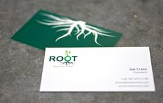 ROOT logo / business card