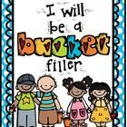 "Calling all Bucket Fillers....let's ""fill it up""! This is a set of 5 ""Bucket Filler"" themed posters. Perfect for classroom or hallway display!..."