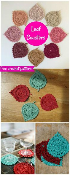70 Easy Free Crochet Coaster Patterns for Beginners - Page 6 of 14 - DIY & Crafts