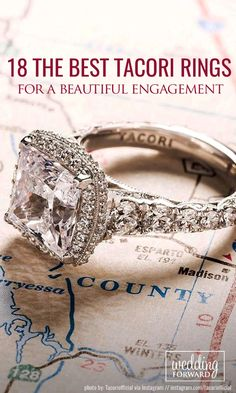 18 Tacori Engagement Rings You'll Never Forget❤ The Tacori engagement rings may drive crazy any girl. But it's not easy to choose the ring; actually, all of them is perfect. Find yourself in their beauty! See more:  http://www.weddingforward.com/tacori-engagement-rings/ #engagement #rings