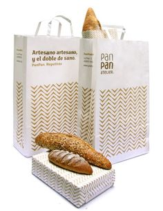 El pan recién hecho, y el diseño en las panaderías. Algunos interiores de panaderías que han cambiado su imagen. La primera, Elektra Bakery, en Grecia.  Cadena de panaderías familiar, con un inter…