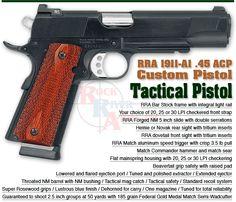 RRA 1911 Tactical Pistol