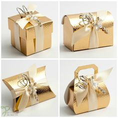 Luxury DIY Wedding Christmas Table Leather effect Favour Boxes Shiny Gold Pelle in Home, Furniture & DIY, Wedding Supplies, Wedding Favours Wedding Favours Fudge, Wedding Favours Luxury, Gold Wedding Favors, Winter Wedding Favors, Wedding Favor Boxes, Gifts For Wedding Party, Party Gifts, Favour Boxes, Winter Weddings