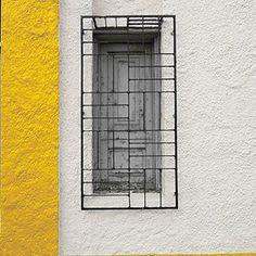 Window Grill Door Grill, Window Grill Design, Partition Design, Facade Design, Iron Windows, Windows And Doors, Window Security Bars, Iron Window Grill, Burglar Bars