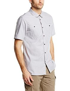 Craghoppers Men's Dumaka Short Sleeve Shirt, Quarry Grey, Small *** You can get more details by clicking on the affiliate link Amazon.com.