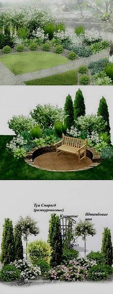 small veggie garden layout - All About Garden Shrubs, Shade Garden, Landscape Plans, Landscape Design, Landscape Photos, Small Gardens, Outdoor Gardens, Small Garden Design, Front Yard Landscaping