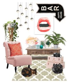 """done"" by loveroverfear ❤ liked on Polyvore featuring interior, interiors, interior design, home, home decor, interior decorating, Sonneman, Home Decorators Collection, D.L. & Co. and McCoy Design"