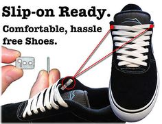 Never Tie Your Shoelaces Again
