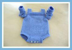 Une petite barboteuse toute simple pour bébé