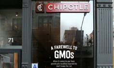 #Chipotle is officially the first national chain to be 100% GMO-free. #restaurant #fastfood