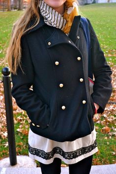 This week on @College Fashionista STYLE ADVICE OF THE WEEK: Classic Peacoat Flattery! http://www.collegefashionista.com/school/view/university_of_missouri/style_advice_of_the_week_classic_flattery