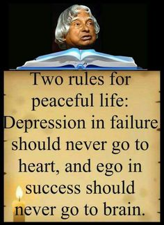Rules of life # happy Apj Quotes, Life Quotes Pictures, Wisdom Quotes, Words Quotes, Best Quotes, True Quotes, Qoutes, Sayings, Inspirational Quotes About Success
