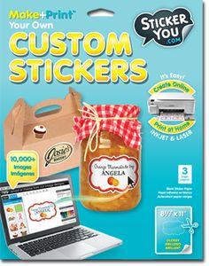 Make Stickers Elegant Print Custom Stickers Stickerapp
