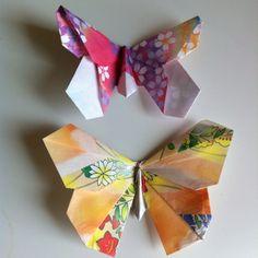 Oragami Butterflies