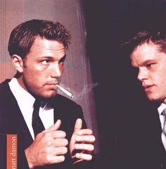 Ben Affleck + Matt Damon