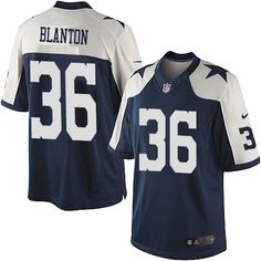 Youth Nike Dallas Cowboys  36 Robert Blanton Limited Navy Blue Throwback  Alternate NFL Jersey Nfl 2f16634f7