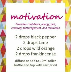 Use in diffuser or make a roller!