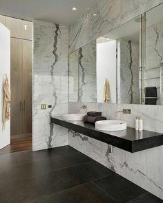 Résultats de recherche d'images pour « salle de bain marbre design »