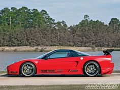 1993 Acura Nsx Side View Photo 1