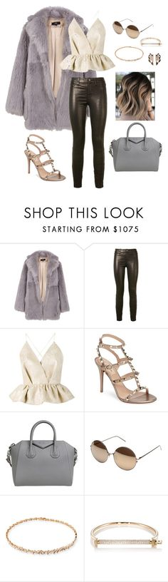 """""""Expensive Taste"""" by clothes-makeup-and-hair-oh-my on Polyvore featuring TIBI, J Brand, Delpozo, Valentino, Givenchy, Linda Farrow, Suzanne Kalan, MIANSAI and Nak Armstrong"""