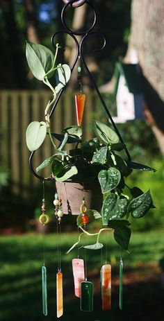 planter Wind Chimes - Bing Images