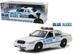 Jamie Reagan's 2001 Ford Crown Victoria Police Interceptor NYPD from
