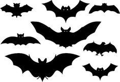 Bunch of Bats Halloween Vinyl Decal Vinyl Decal
