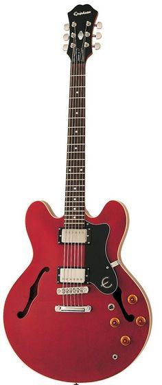Epiphone Dot Semi-Acoustic Guitar, Cherry #epiphone #guitar