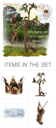 """""""Princesses and Africa!! YES PLEASE!! (see D)"""" by runners ❤ liked on Polyvore featuring art"""