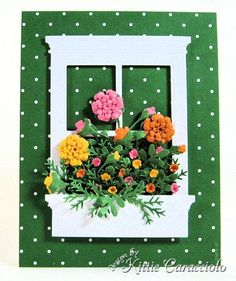 Summer Sun, Magenta and Pumpkin Pie for all the flowers and Garden Green for the foliage.
