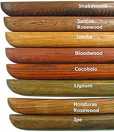 Bokkens -- Different Types of Wood  Weapons. le boken est le sabre que se servait en premier si l'adversaire était considéré comme indigne de combattre avec le katana véritable âme des guerriers Japonais, les Samouraï.