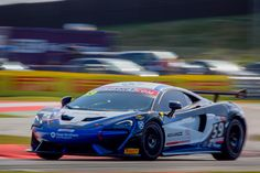 The #59 McLaren 570S GT4 run by customer team Black Bull Ecurie Ecosse scored victory over the weekend at Snetterton, the penultimate round of the 2016 Bri