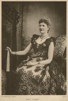 Julia Mary (née Lethbridge), Lady Carew, by W. & D. Downey, photogravure, circa 1892
