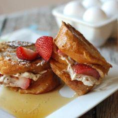 Strawberry Cheesecake French Toast Recipe - ZipList