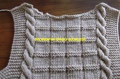 MATERIALS: Himalayan baby yarn pieces) Number 4 skewers REAR: 73 loops are started. Baby Knitting Patterns, Crochet For Kids, Crochet Top, Crochet Bag Tutorials, Knitting Tutorials, Little Cherubs, Baby Pullover, Small Notebook, Baby Sweaters