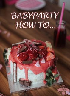 Babyparty how to...