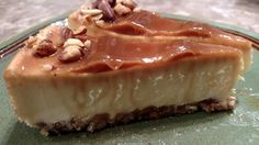 Eli's Salted Caramel Cheesecake - giveaway ends 02/18/15 - From Val's Kitchen