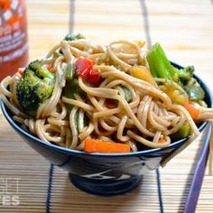 Teriyaki Noodles Bowl